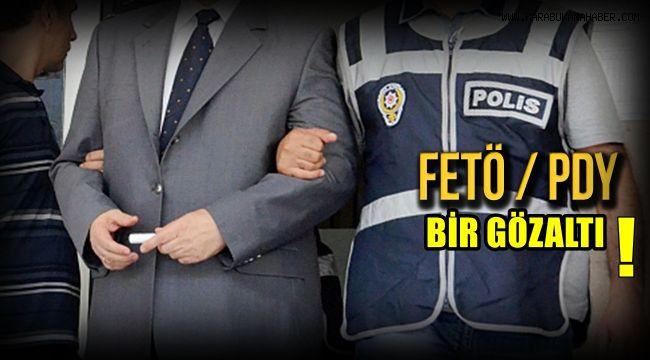 Karabük'te FETÖPDY operasyonu: 1 gözaltı
