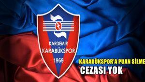 TFF'den Karabükspor'a puan silme cezası yok