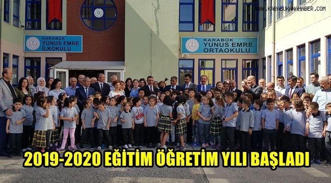 2019 -2020 eğitim öğretim yılı başladı