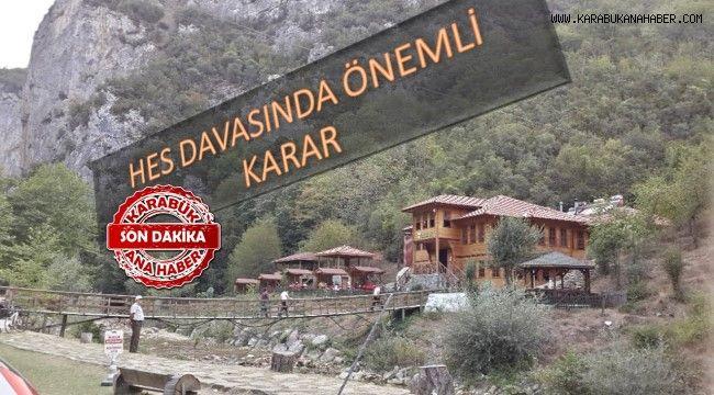ŞEKER KANYONU DAVASINDA ÖNEMLİ KARAR