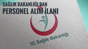 Sağlık Bakanlığı'ndan personel alım ilanı
