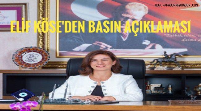 Elif Köse'den basın açıklaması