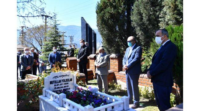 Mutullah Yolbulan mezarı başında anıldı