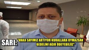 İl Sağlık Müdürü Sarı: