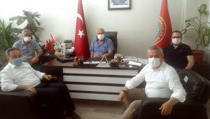 AK Parti Teşkilatından Emekliler Derneğine ziyaret