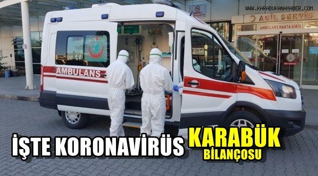 İşte koronavirüs Karabük bilançosu