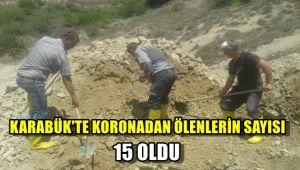 Karabük'te koronadan ölenlerin sayısı 15 oldu