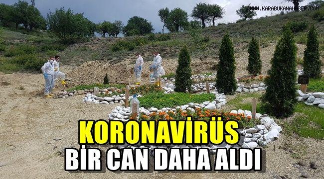 Koronavirüs bir can daha aldı