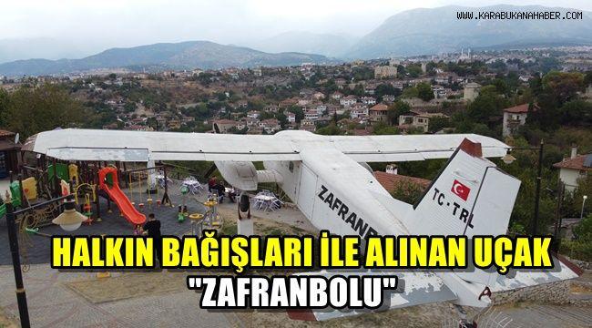 Halkın bağışlarıyla alınan uçak: