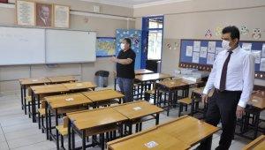 Safranbolu'da okullar yüz yüze eğitim hazır