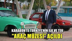 Karabük'te Türkiye'nin ilk ve tek