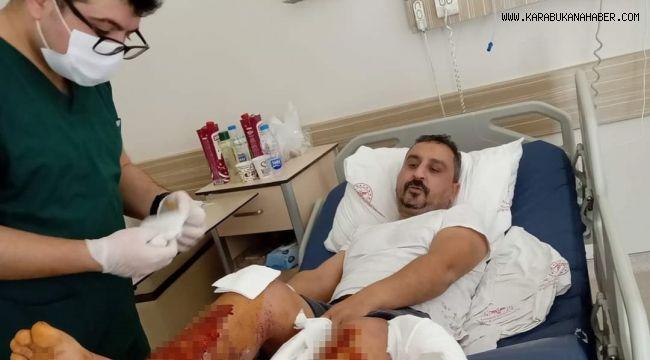 Karabük'te silahlı yaralama