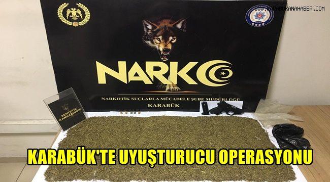 Karabük'te uyuşturucu operasyonu: 1 tutuklama