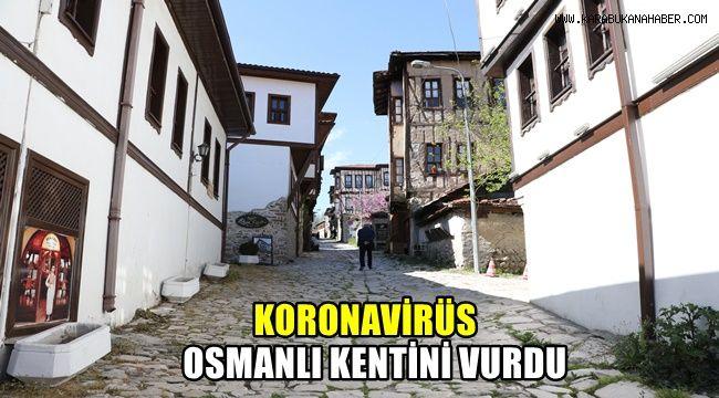Korona virüs Osmanlı kentini vurdu