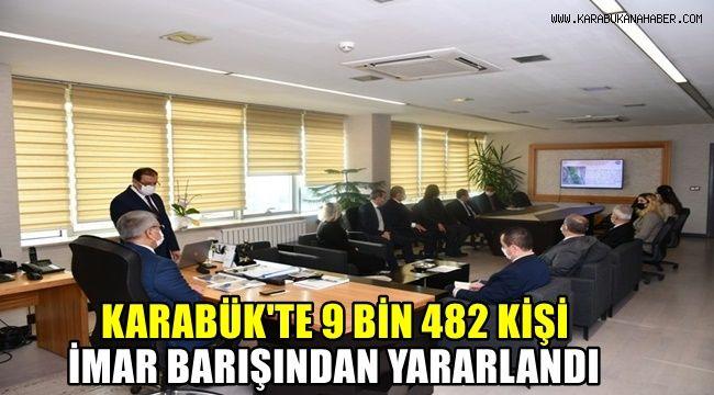 Karabük'te 9 bin 481 kişi