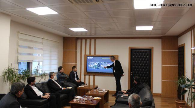Ak Parti Milletvekilleri İl Orman ve Tarım Müdürlüğü'nden bilgi aldı.