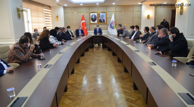 AK Parti Yeni İl Yönetiminden Vali Gürel'e Ziyaret