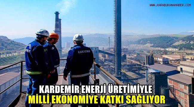"""""""Kardemir Enerji Üretimiyle Milli Ekonomiye Katkı Sağlıyor"""""""