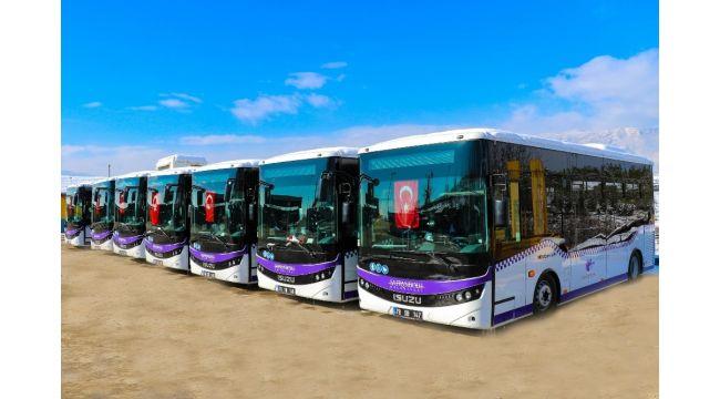 Safranbolu'da yeni halk otobüsleri hizmete başladı