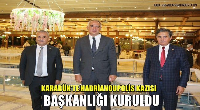 Karabük'te Hadrianoupolis Kazısı Başkanlığı kuruldu