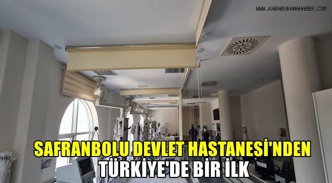 Safranbolu Devlet Hastanesinden Türkiye'de bir ilk