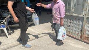 Sanayi esnafı 3 gün süren su kesintisine tepki gösterdi