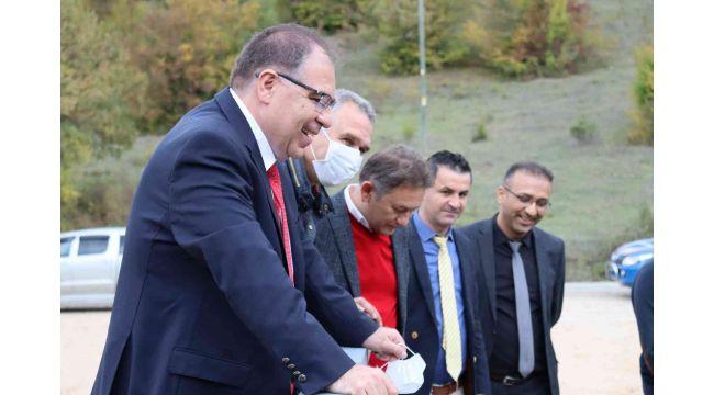 Kaymakam Türköz 4 köyü ziyaret ederek incelemelerde bulundu