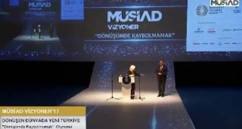 Alev ALATLI-MÜSİAD - Dönüşümde Kaybolmamak